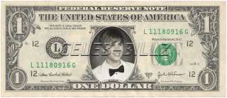 Justin Bieber Dollar Bill v2 Celebrity Novelty Collectible Money Mint