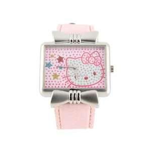 com Cartoon Hello Kitty Color Electronic Waterproof Girls Kids Watch