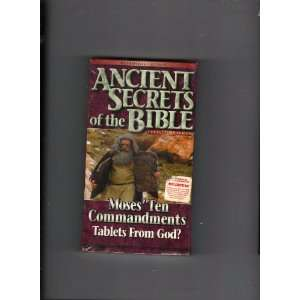 Ancient Secrets of the Bible Moses Ten Commandments   Tablets from