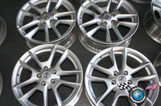 Four 09 11 Nissan Maxima Factory 18 Wheels Altima OEM Rims 62511