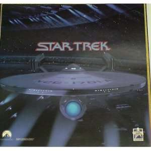 STAR TREK IV USS ENTERPRISE  A PROMOTIONAL FLAT