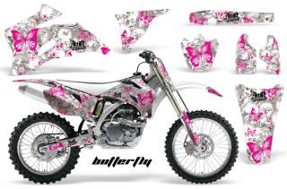STICKER DECAL GRAPHIC BACKGROUND KIT YAMAHA YZ450 YZ YZ250 06 09 BIBGW