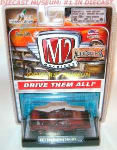 1970 70 FORD MUSTANG BOSS 429 M2 MACHINES DIECAST