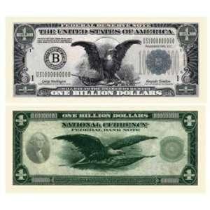 Billion Dollar Bill AAC Case Pack 100: Toys & Games
