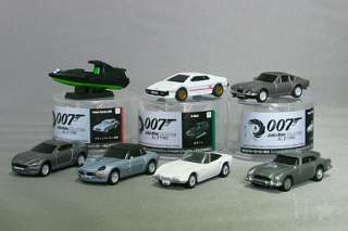 007 JAMES BOND Aston Martin V8 vantage Pullback Car Collection 2012 n
