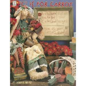 C Is for Carrot (Sewing, Embroidery, Rag Dolls) (DPC