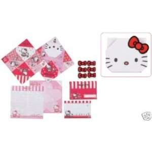 Sanrio   Hello Kitty Flower Origami Letter Set Everything