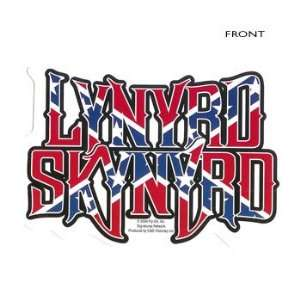 Lynyrd Skynyrd   Confederate Flag Logo   Decal / Sticker
