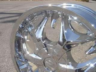 Wheel + Tire Packages 26 inch Triple chrome rims B3