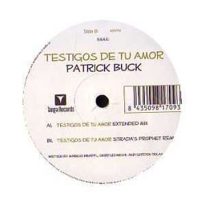 PATRICK BUCK / TESTIGOS DE TU AMOR: PATRICK BUCK: Music