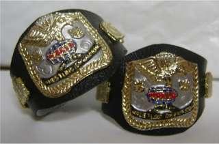 WWF Tag Team Legends PAINTED action figure belt Mattel WWE Demolition