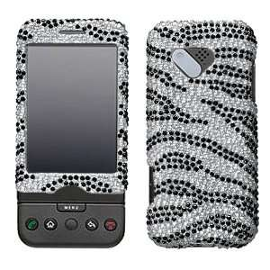 Skin Diamante Protector Cover for HTC G1 Cell Phones & Accessories