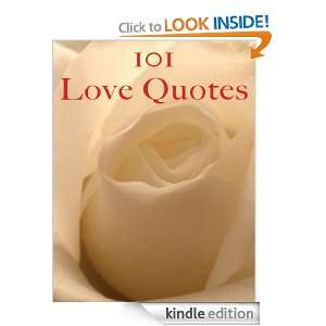 101 Love Quotes: Crombie Jardine:  Kindle Store