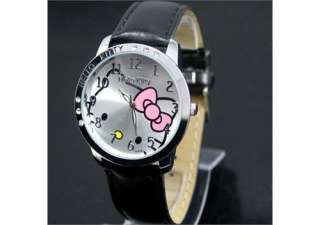 5pcs HelloKitty lovely Ladies Quartz Watch Wristwatch