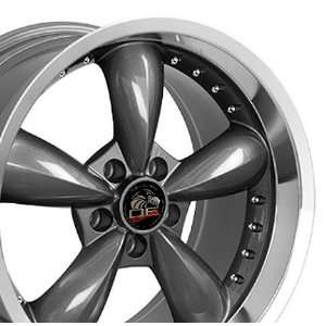 Bullitt Style Deep Dish Wheels with Rivets and Machined