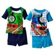 NWT NEW BOYS 2PC THOMAS TRAIN PAJAMAS SET 2T 3T 4T