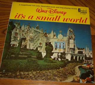Walt Disneys Its A Small World Record Album