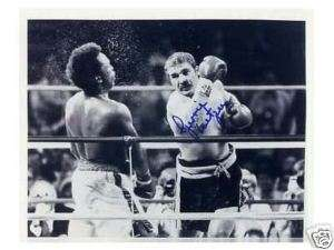 Gerrie Coetzee   Rare Boxing World Champion signed 10x8