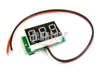 ... Car Voltage Monitor · Slim Digital Voltmeter Panel DC 4.5 30V Red LED Digital Voltage Panel ...