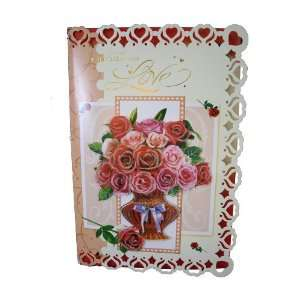 Extra Large Valentines Card, Special Kind of Love Health