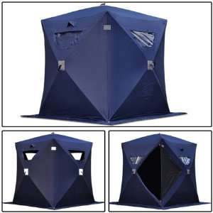 Shelter 2 3 4 Man Person Fish Shanty House Tent Sports & Outdoors