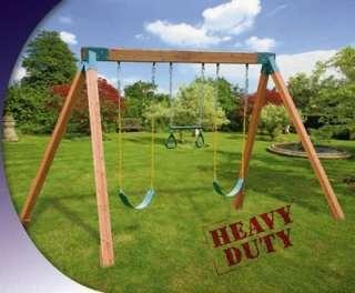 Swing set plans in swings slides gyms for Do it yourself swing