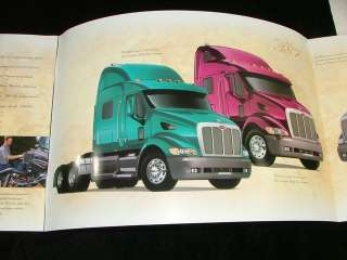 Model 387 Peterbilt Truck Tractor Sales Brochure +