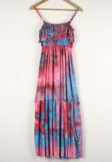 womens long summer casual dresses Junior vintage floral fashion dress