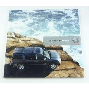 2007 07 Nissan ARMADA Truck SUV BROCHURE SE LE Everything