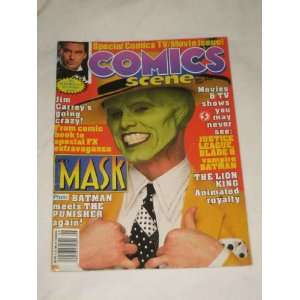 Jim Carrey The Mask Batman The Punisher: Starlog Communications: Books