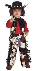 BOY COWBOY TODDLER COSTUME TODDLER CHILD WESTERN OUTFIT HALLOWEEN