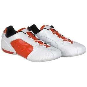 Alpinestars F1 Sport Shoes   14/White/Red: Automotive