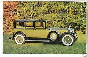 1928 PACKARD 443 SUPER EIGHT SEDAN Car Photo POSTCARD