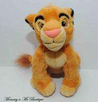 Exclusive Lion King Young Simba 13 Plush Toy