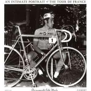 Tour De France Poster ~ Eddy Merckx ~ 22x30 Home & Kitchen