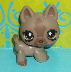 Littlest Pet Shop~491 FANCIEST GERMAN SHEPHERD DOG~E132