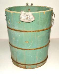 Antique Alaska North Star 4qt Hand Crank Ice Cream Maker Great Patina