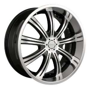 (955) (Black w/ Machined Face) Wheels/Rims 6x135/139.7 (955B 24937