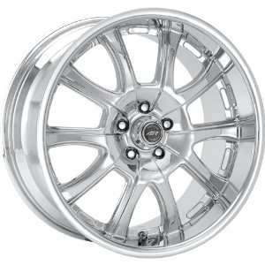 American Racing Redline 18x9 Chrome Wheel / Rim 5x4.5 with