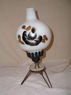 Small Vintage Eames Mid Century Modern Lamp Hairpin Leg