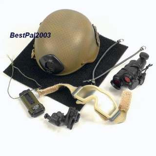 Scale Playhouse US Special Forces CJSOTF A Helmet Set MICH 2000