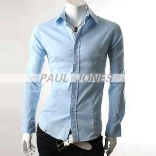 Wild Business Menswear PJ Mens casual Shirt slim fited