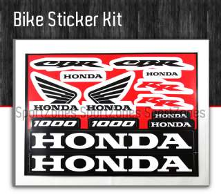 Honda Dirt Bike XR CRF 150 250 Decal Sticker graphic
