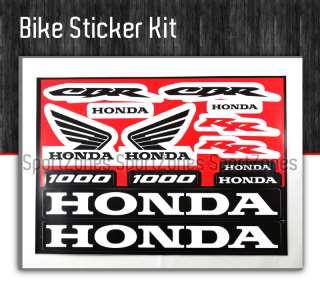 Honda Dirt Bike XR CRF 150 250 Decal Sticker graphic |