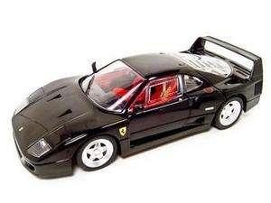 Hot Wheels Ferrari F40 Die cast 1/18 BLACK F 40 NEW