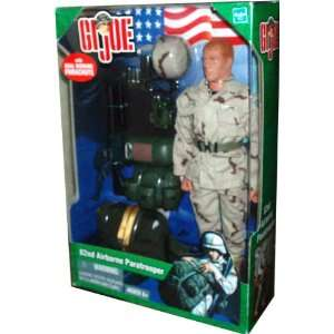 2003 G.I. Joe 11 Inch Tall Action Figure   82nd Airborne Paratrooper