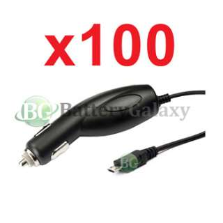 100x NEW Rapid Fast Battery Car Charger Cell Phone for T Mobile Nokia
