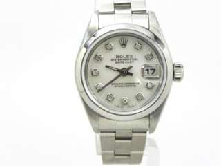 Ladies Rolex Datejust S.S. Mother of Pearl Diamond Dial w/Box & Papers