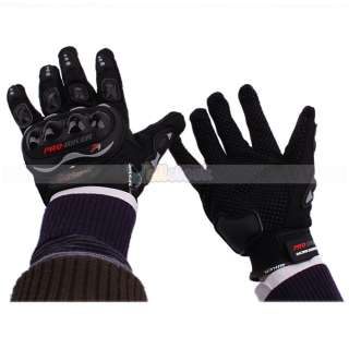 New Bicycle Motorcycle Riding Protective Gloves Black XL