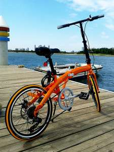 quality folding bike road Bicycle shimano 7 speed (disc brake)